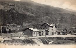 Bourg-Saint-Maurice  73   Vue De La Gare Exterieure - Bourg Saint Maurice