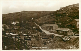 PENBERTH VALLEY, CORNWALL ~ AN OLD REAL PHOTO POSTCARD #90409 - Other