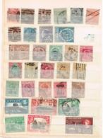 Indes Anglaises Anciens Timbres à Identifier - Collections (sans Albums)