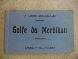 CPA 56 @ Carnet De 12 Cartes GOLFE DU MORBIHAN - Locmariaquer, Conleau, Arradon, Ile D'Artz, Berder, Larmor Baden  ... - Locmariaquer