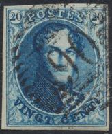 """Médaillon - N°4 Margé Obl P90 """"Ostende"""" - 1849-1850 Medallions (3/5)"""