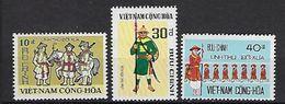 """Viet-Sud YT 438 à 439 """" Gardes Frontières """" 1972 Neuf** MNH - Viêt-Nam"""