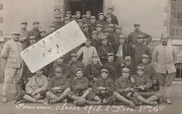 VERSAILLES - Militaires De La Classe 1918 Du 81 ème Régiment D' Artillerie   ( Carte-photo 2/2  ) - War 1914-18