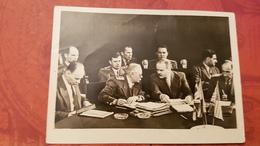USSR. SOVIET PROPAGANDA.  VYSHINSKY AND MOLOTOV  AT POTSDAM. OLD PHOTO Postcard - Histoire