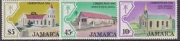 Giamaica 1981 Christmas Navidad Natale Set MNH - Natale