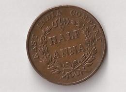 INDE 1835 HALF ANNA - Inde