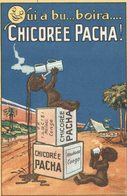 Qui A Bu...boira...Chicorée Pacha - 2 Scans - Advertising