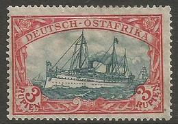 German East Africa - 1915 Kaiser's Yacht 3r MH *   Sc 41 - Colony: German East Africa