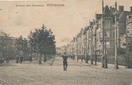 CPA - Belgique - Brussels - Bruxelles -Etterbeek - Avenue Des Germains - Etterbeek