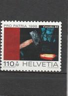 Suisse Neuf **  1998  N° 1581   Pour La Patrie  Forges De Corcelles - Neufs