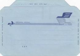 BRASIL -  AEROGRAMME 0.50  NEW  / 1 - Interi Postali