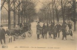 CPA - Belgique - Brussels - Bruxelles - Parc Du Cinquantenaire - Les Petits S'amusent - Etterbeek