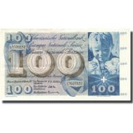 Billet, Suisse, 100 Franken, 1957, 1957-10-04, KM:49b, TTB+ - Switzerland