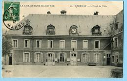 CPA 51 EPERNAY Hotel De Ville 1912 - Epernay
