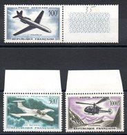 FRANCE - YT PA N° 35 à 37 - Neufs ** - MNH - Cote 110,00 € - 1927-1959 Mint/hinged