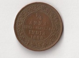 INDE 1888 1/4 ANNA - India