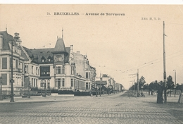 CPA - Belgique - Brussels - Bruxelles - Avenue De Tervueren - Etterbeek