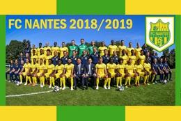 CARTE D'Equipe Du FC. NANTES    SAISON 2018/2019 # CE.101 - Voetbal