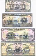 Bolivia 6 Note Set 1928 COPY - Bolivia