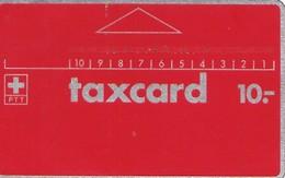 PTT: P01 C0 1982 Altes PTT Signet - Schweiz