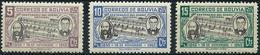 Bolivia 1946 - Mi 394/96 - YT 277/79 ( Creator Of The Anthem ) MNH** - Bolivia