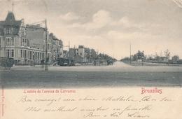 CPA - Belgique - Brussels - Bruxelles - L'entrée De L'avenue De Tervueren - Etterbeek