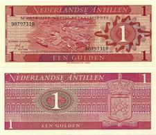 NETHERLANDS ANTILLES      1 Gulden       P-20a       8.9.1970       UNC - Antille Olandesi (...-1986)