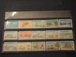 ANGUILLA - 1967/8 PITTORICA  15 VALORI  - NUOVI(++) - Anguilla (1968-...)
