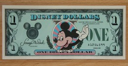 Etat-Unis D'Amérique 1 Disney Dollar 1987 Revers Château - United States Of America
