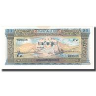 Billet, Cambodge, 50 Riels, KM:7a, TTB - Cambodia
