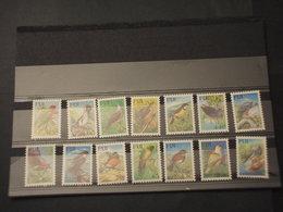 FIJI - 1995 UCCELLI 14 VALORI  - NUOVI(++) - Fiji (1970-...)