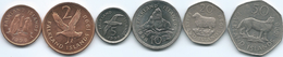 Falkland Islands - Elizabeth II - 1998 - 1, 2, 5, 10, 20 & 50 Pence - Falkland