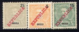 ANGOLA, NO.'S 88, 89 AND 91, MH / SEE NOTE - Angola