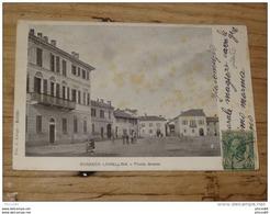 ITALIE : ROSASCO LOMELLINA : Piazza Grande ...................... HQ-8 - Pavia