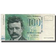 Billet, Finlande, 100 Markkaa, 1986-1991, KM:119, TTB - Finlandia