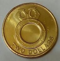SOLOMON ISLANDS -  2 Dollar , 2012 , KM 239 - UNC , Agouz - Salomonen