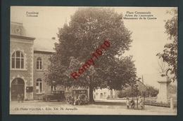 Ferrières - Tribunal. Place Communale. Arbre Du Centenaire Et Monument De La Guerre. Autos Et Belle Animation - Ferrieres