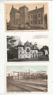 Cp ,86 , VIENNE , VIVONNE , 2 Scans ,  LOT DE 5 CARTES POSTALES - Cartoline