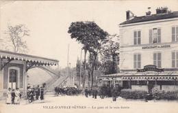 Ville D'Avray-Sèvres - La Gare Et La Voie Ferrée - Sevres