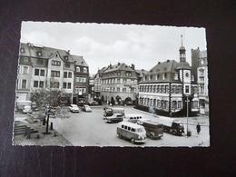 Mayen Marktplatz Ca. 1958 ? Viele Alte Autos - Mayen