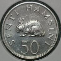 Tanzania 50 Senti, 1984 -4267 - Tanzanía