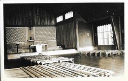 Catholic Mission - Sayangan, Atok, Benguet, Philippines - Intérieur De L'Eglise - Carte-photo George Gelade - Missions