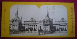 PHOTO STÉRÉOSCOPIQUE - Paris,palais De Justice (carte Vendue En L'état) - Photos Stéréoscopiques