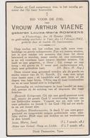 DOODSPRENTJE ROMMENS LOUISA ECHTGENOTE VIAENE VLAMERTINGE (1886 - 1942) - Imágenes Religiosas