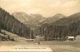 Pays Div -ref T559- Suisse - Lac De Morgins Et Les Cornettes De Bise - - Non Classificati
