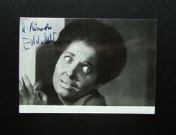 Autografo Edda Albertini Attrice Di Prosa Foto Crimella Teatro - Autografi