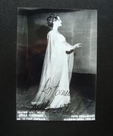 Autografo Lella Cuberli Soprano Teatro Alla Scala 1976 77 Foto Piccagliani - Autografi