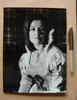 Autografo Orianna Santunione Soprano Foto Alceo Trouche' Lirica - Autografi
