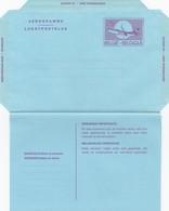 BELGIQUE  -AEROGRAMME 25 - UNUSED  /  2 - Stamped Stationery