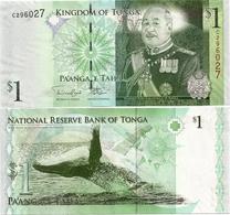 TONGA       1 Pa'anga       P-37[b]       ND (2011)       UNC - Tonga